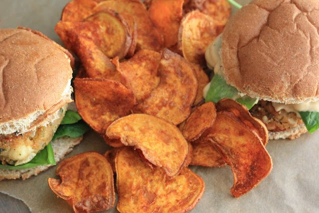 barbecue sweet potato chips | Next on My Cooking List | Pinterest