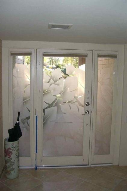 Glass Doors that welcome