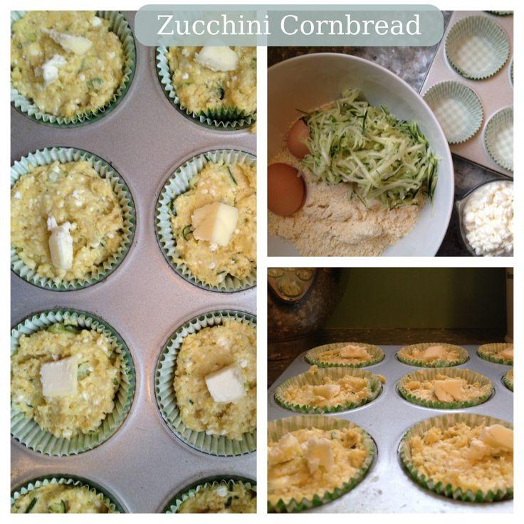 Zucchini Cottage Cheese Cornbread Breads Amp Rolls