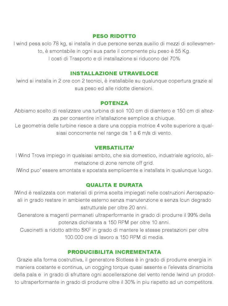 #ClippedOnIssuu from Scheda tecnica turbine eoliche, costo zero, incentivi, guadagno, micro eolico