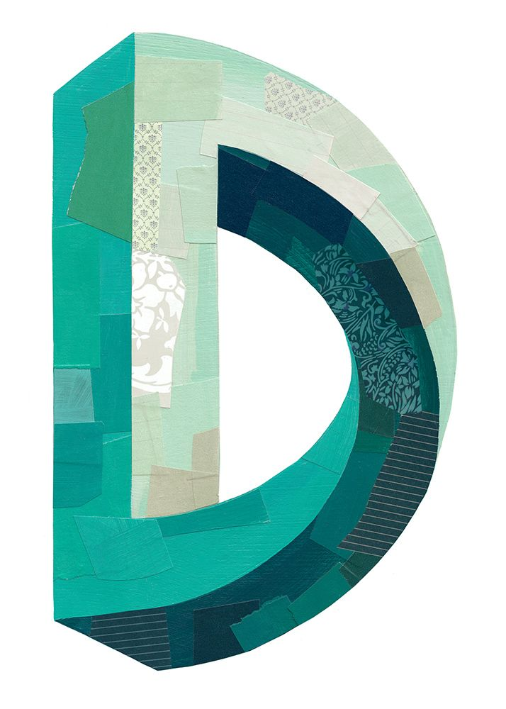 """D"" by Darren Booth. Vote for it on The Type Fight."