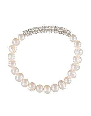 Pearl Pavé Bar Bracelet | Woolworths.co.za