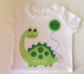 Camiseta personalizada fieltro