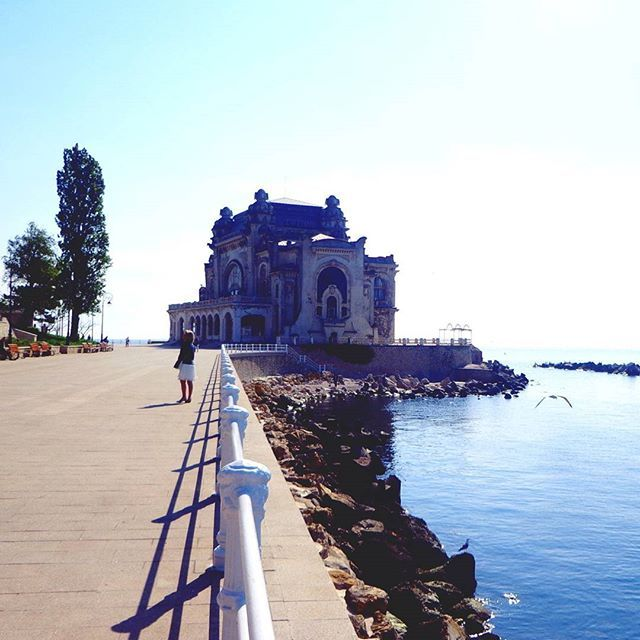 Sunny & tranquil morning in Constanța #destinationany #anywheretraveler #travelblogger #travelgram #traveler #instatravel #citybreak #constanta #cazino #sunnyday #justchill #beautifuldestinations #beautifulplaces #beautifulromania #takemetoromania #igers #igersromania #igromania #ig_romania