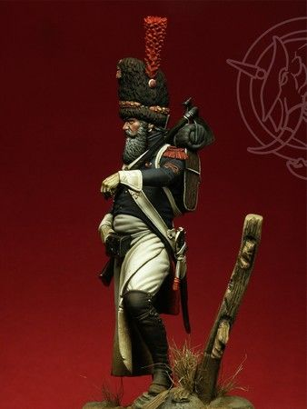 Sapper of Foot Grenadiers of the Guard 1806-7