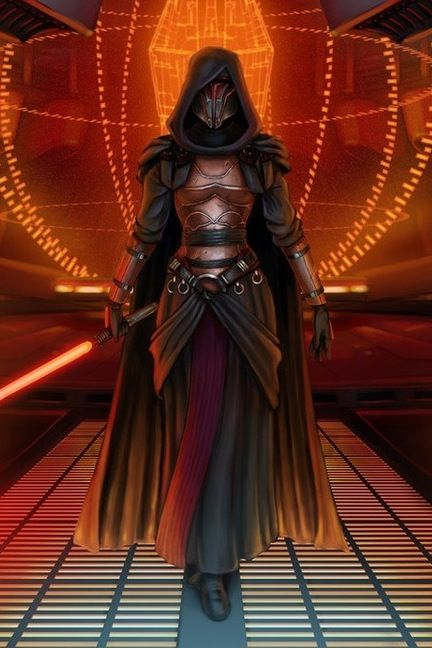 A female Darth Revan..  Hey you can play the game that way, why not??