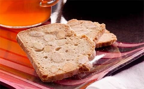 Almond biscotti: Slam-dunk these low-fat, dairy-free crisp creations in your favourite hot bevvy.