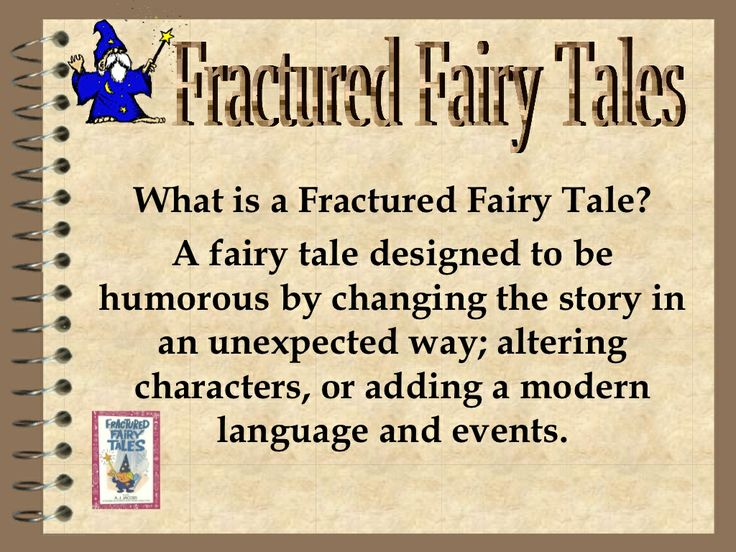 Fractured fairy tales pp