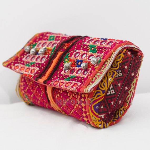 Banjara Clutch Bag Trendy Clutch Vintage Clutch Bag by Moomal, $59.99