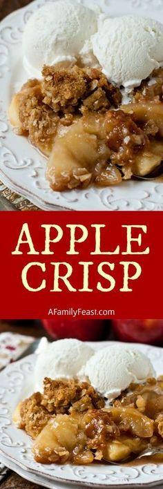This best Apple Crisp recipe