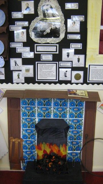 Victorian room display.