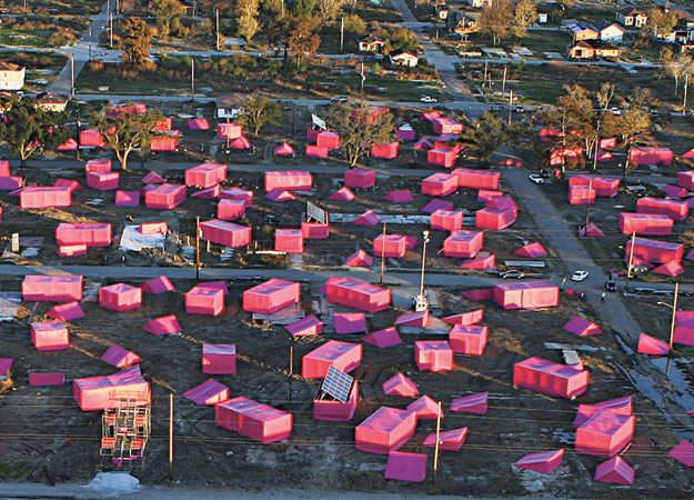 New orleans pink houses make it right architecture for Make it right foundation