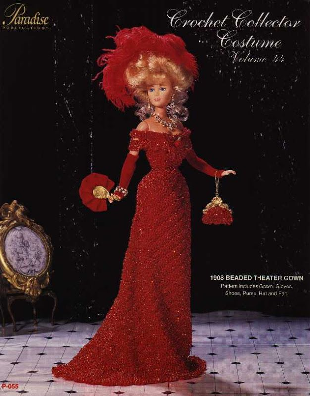 Barbie, Crochet Collector Costume Vol. 44