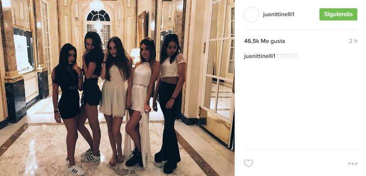 Juanita Tinelli demostró que está más unida que nunca con sus amigas y compartió una foto muy sexy