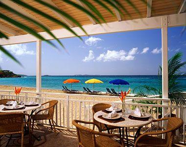 U.S. Virgin Islands, Caribbean: Coco Joe's Restaurant at the Frenchman's Reef and Morning Star Marriott Beach Resort