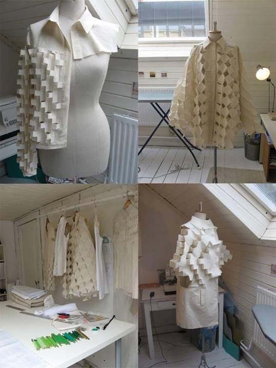 Toiles show design in progress by Alexandra Vershueren