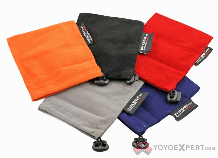 These are yoyo expert velvet bags on yoyoexpert.com (my favorite color is probably gray or orange but I like them all)