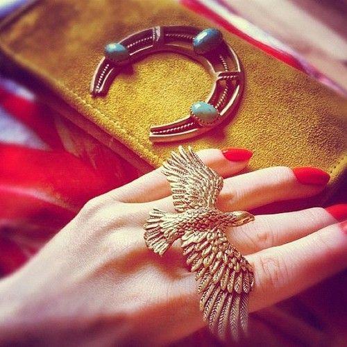 hawk ring