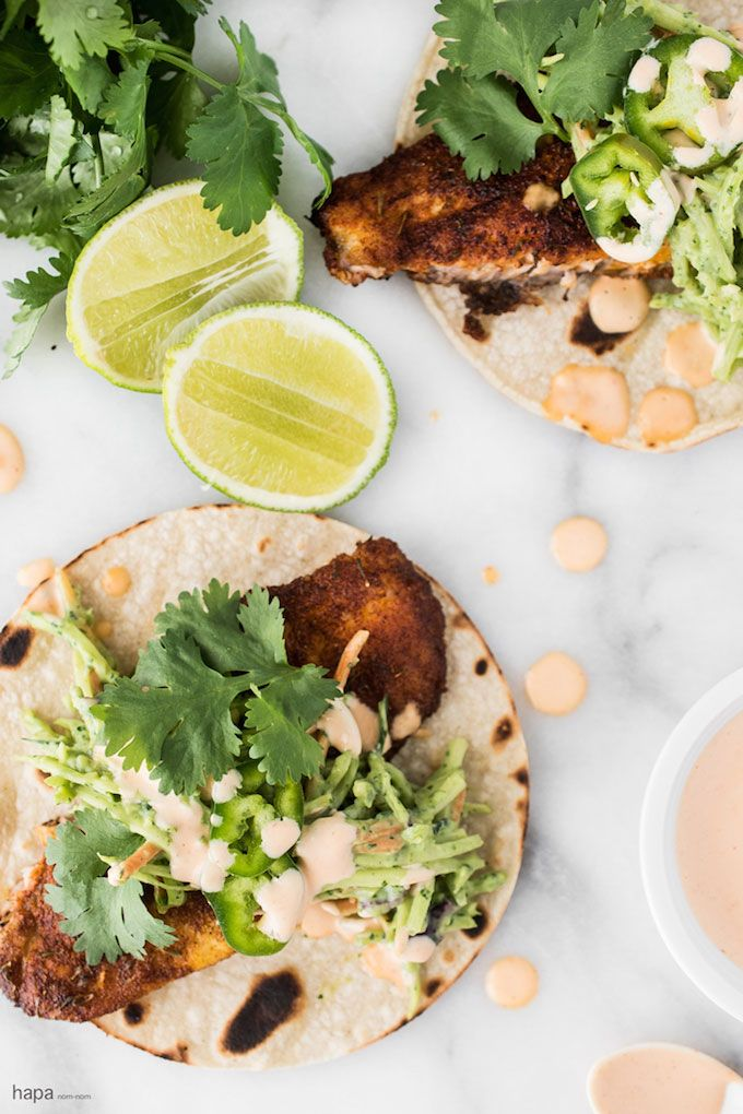 Check out blackened fish tacos it 39 s so easy to make for Fish taco aioli