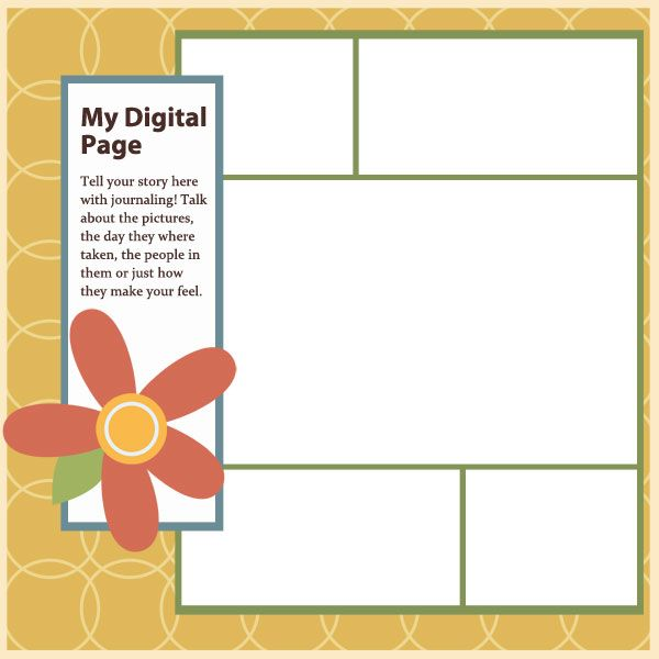 41 best images about digital scrapbook freebies templates on pinterest layout template - Picture design samples ...