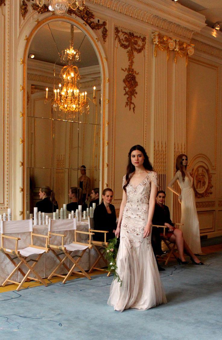 2016 Jenny Packham Bridal Event at the Mandarin Oriental Hotel London - Mariana Gown #JennyPackham #Bridal