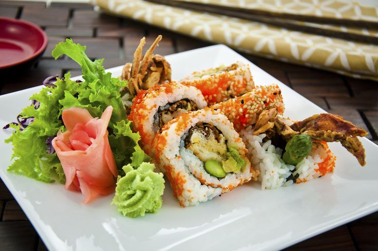 Spider roll. I miss you. We'll be reunited as soon as I have the baby