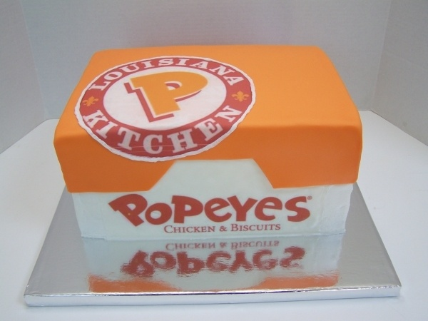 A Popeyes Chicken Birthday Cake Really This Could Have