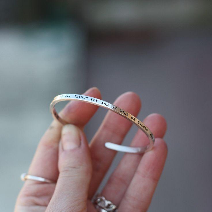 Bracciale inciso rigido - argento 925