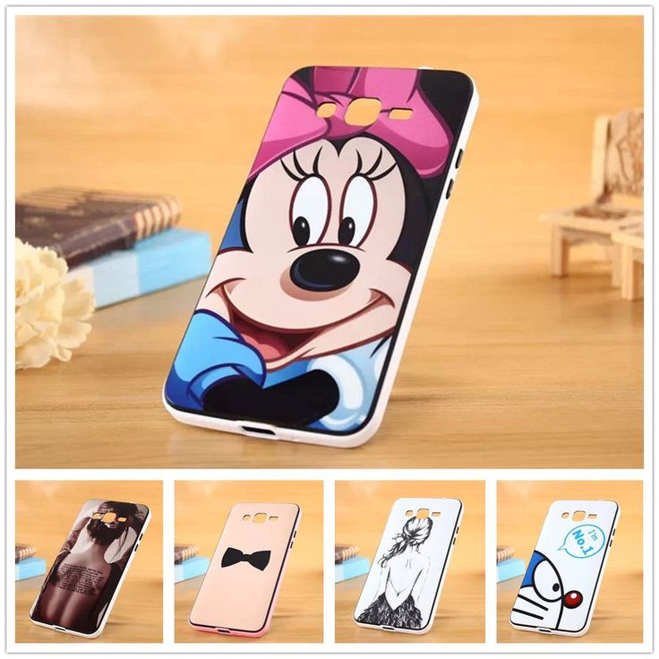 For Samsung Galaxy Grand Prime G5308 case cover Minnie Mouse bowknot Doraemon #UnbrandedGeneric