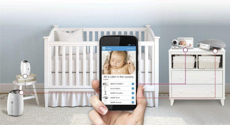 Kind + Jugend Innovation Award 2016: Category 'World of Kids Safety at home', Smart Nursery (Motorola Baby Binatone)