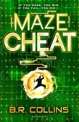 MazeCheat by B.R. Collins. CRATER, is all-powerful. But CRATER have a game expansion that is sinister to the extreme. In their new game, if you finally manage to beat it, it takes your brain and in particular your memories, to use as material for new games, for new Gamerunners, leaving you an empty shell. Except no one knows that yet.  And when something terrible happens to Pir in The Maze, Ario and Rick need to try to destroy this terrible expansion of the game that kills.