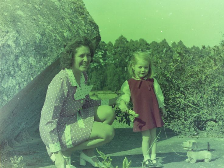 My Mom & I when I was just a child. Beautiful then and beautiful now 40 years later.