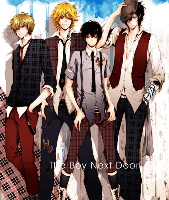 Anime, Fanart, Katekyo Hitman REBORN!, Hibari Kyoya, Dino Cavallone