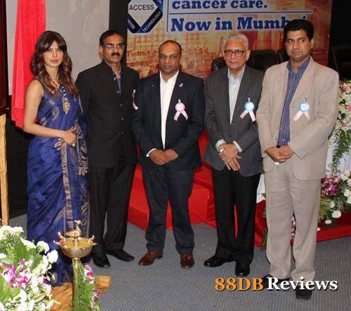 Priyanka Chopra Launches New Cancer Ward in Nanavathi Hospital
