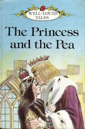 THE PRINCESS AND THE PEA a Vintage Ladybird Book Well Loved Tales Series 606D