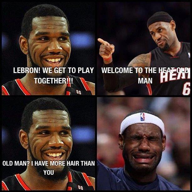 Gregoden Lbj Lebronjames Miami Heat Nba Basketball Meme Funny Lol Photooftheday Nbabasketba Funny Basketball Memes Funny Nba Memes Basketball Memes