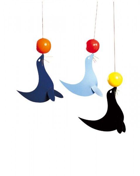 Flensted Mobiles Die 3 Seelöwen 48x35 cm