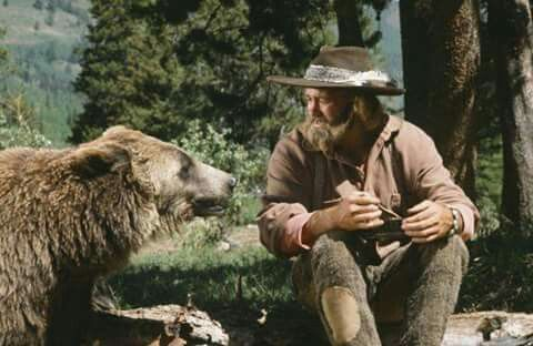 Ben and Grizzly Adams