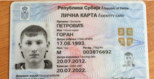 Ухпашен Горан Петровић, двоструки убица са КиМ - КМ Новине  #вести, #косово, #метохија, #догађаји, #горан, #петровић,