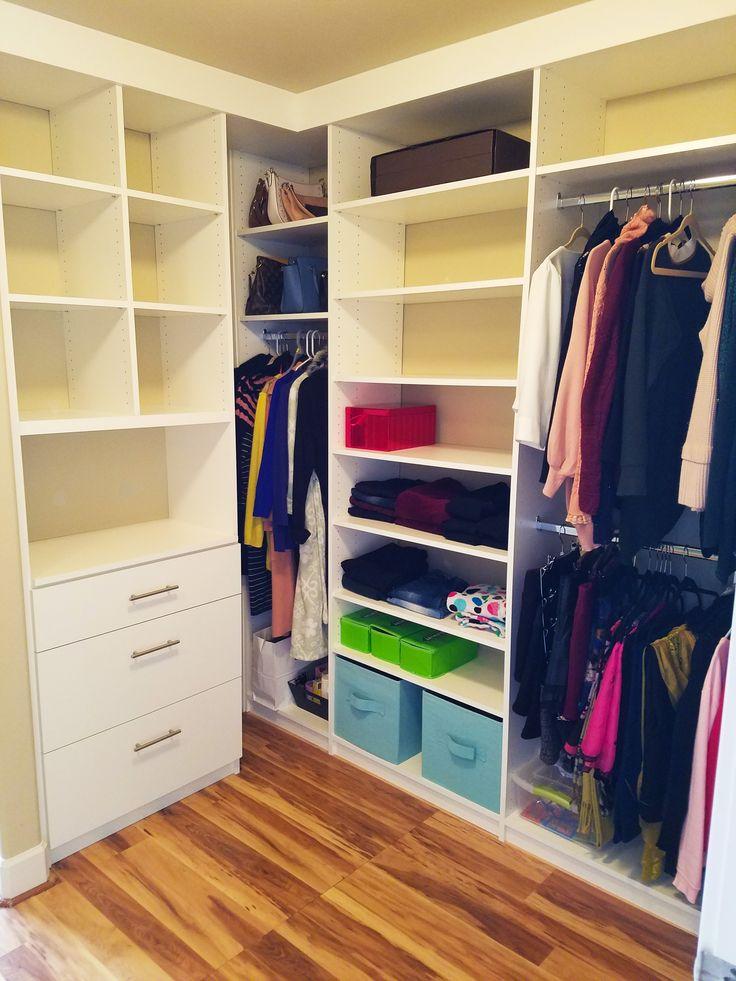 181 best walk in closet organizers images on pinterest for Walk in closet planner