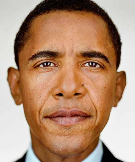 Martin Schoeller: Up Close and Personal -Obama