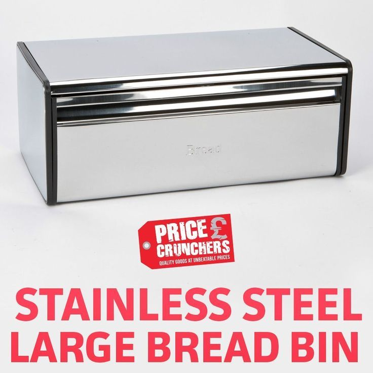 Bread Bin For Home Kitchen Food Storage Roll Box Container Contemporary Design  #HIGHLANDS #Contemporary