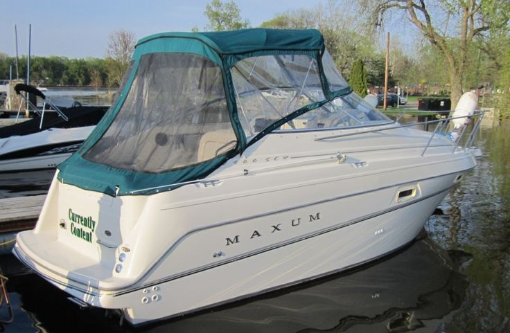 1998 Maxum 2400 SCR $12,900. Check out this new arrival, very clean sharp boat. Powered by MerCruiser 5.7L: Alpha 260HP. Spare prop, New battery, New battery charger, Depth finder, Stereo AM/FM/CD, Trim tabs, and much More!!  More information available on our web site www.billsbay.com or call 651-388-8426 with any questions or to set up a time to view. Thank You, Bills Bay Marina, Red Wing, MN