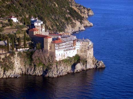 Monastery close to the sea