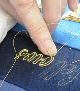 Royal School of Needlework - Keeping the art of hand embroidery alive (my hand!)