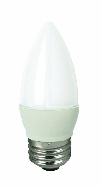 TCP - LED5E26B1127KF LED 5W DIMMABLE FROSTED BLUNT TIP - 2700K