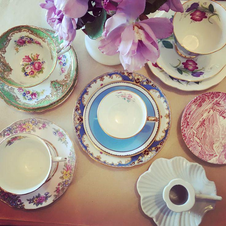 Pretty vintage china @rustemporium