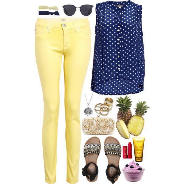 A fashion look from May 2015 featuring Mercy Delta tops, Hudson jeans and Billabong sandals. Browse and shop related looks.