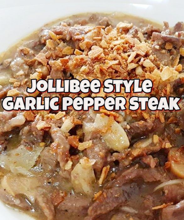 Are you craving for Garlic Pepper Steak Recipe (ala Jollibee). Here's how you can cook the exact recipe at home. The whole family will surely approve! Yes, yes...it's yummy, delicious and it's homemade with love. Happy cooking!