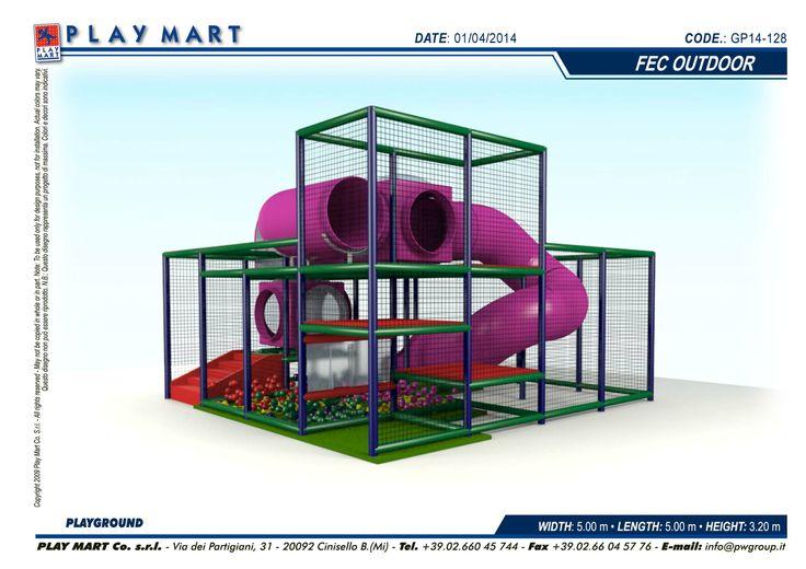 Play Mart - struttura di gioco (codice 1) come nuova; capienza indicativa: 30 bambini - POSSIBILITA' DI NOLEGGIO